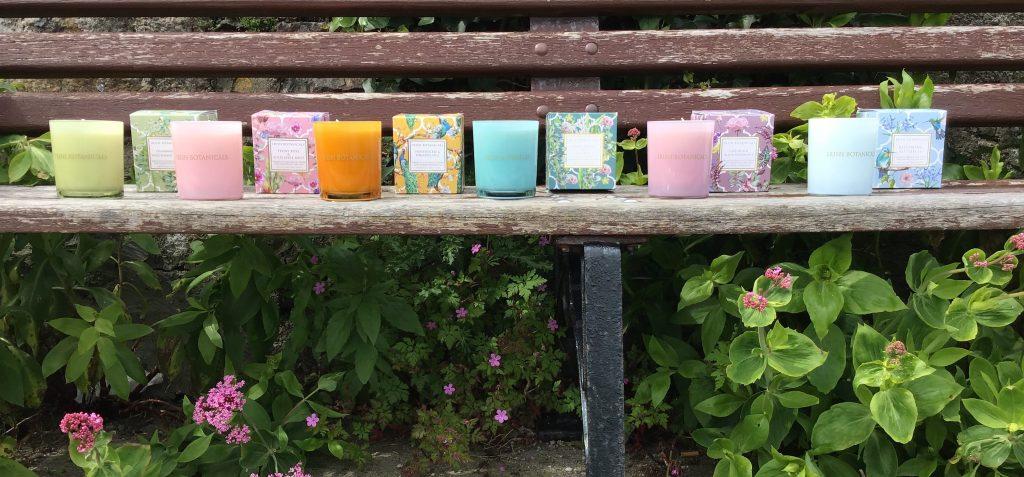 Irish Botanicals candle jars