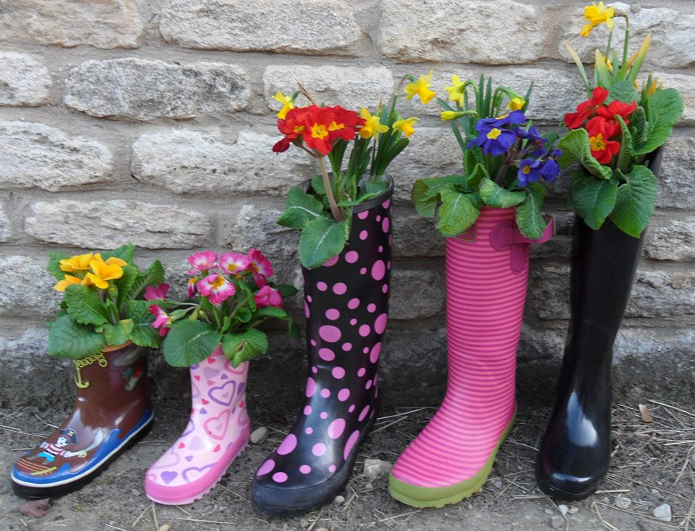 FLOWERS RUBBER BOOTS