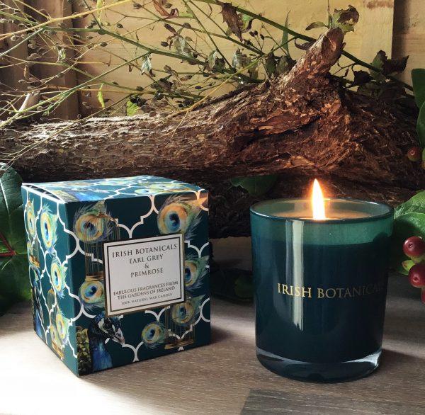 Earl Grey and Primrose candle.